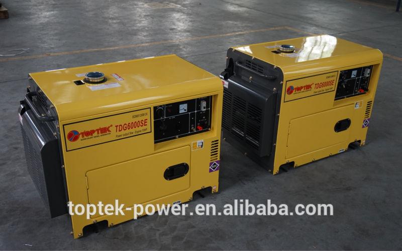 5kva sound proof diesel generator