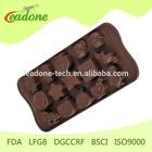 HIGHT QUALITY DGCCRF LFGB Multi Style Silicone Chocolate Mold BPA free FDA