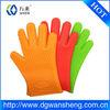 2014 New design big 5 fingers silicone oven glove/mitt supplier in China