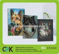 el precio de fábrica de la impresión 3d tarjeta de invitación de guangdong