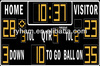 LED Sports Game Scoreboard and Timer for Basketball and Football