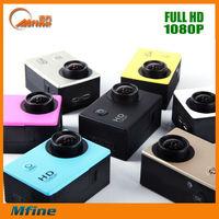 hot sale WIFI Full HD 1080p/60fps SJ4000 Mini 1.5inch Sports DV 60M waterproof ,camcorder