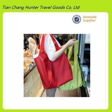 new high quality large capacity nylon waterproof foldable shopping bag