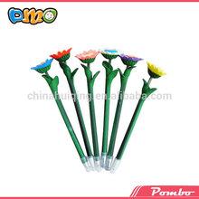Mixed flower handmade art peculiar polymer clay big pen