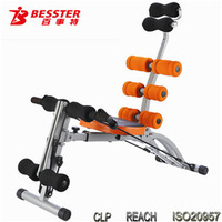BEST JS-060SA SIX PACK CARE total fitness machine gym equipment core