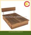 totalmente de mimbre de bambú de almacenamiento de la cama