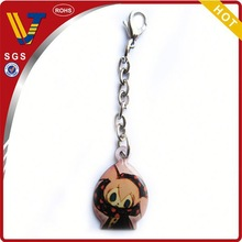 2014 promotional zinc alloy luggage tags and key rings