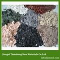 البوليمر الاكريليك تأثير طلاء الرش التطبيقية حجر البناء العامة qs-f1 مناسبة ل