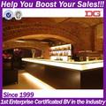 comercial de muebles de madera libre de pie moderno bar contador para la venta