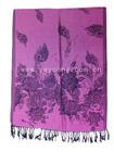 2014 fashion Winter Jacquard fabric tassel woman wear scarf Embroidered Fabric Lady Pashmina Scarf Shawl