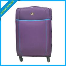 Fashionable leaves king luggage Purple leaves king trolley luggage Hot sale leaves king trolley travel luggage