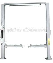 4.5t/11000lbs clear floor two pieces post lift portable car hoist
