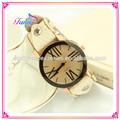 s003 venta al por mayor de moda las mujeres abrigo de cuero de la torre eiffel de cuentas reloj pulsera reloj de pulsera reloj