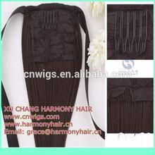 XUCHANG HARMONY yaki human hair ponytail is available