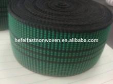 green high quality 100% stretch good tenacity 50mm sofa elastic band