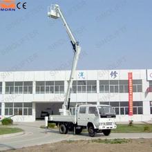 14m vehicle construction material elevators