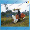 Best price crawler track double thresher rice combine harvester for sale with one year warranty