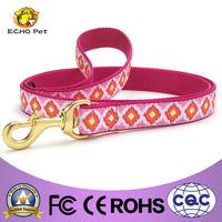 design retractable dog leash Pink Crush dog lead