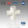 ERA New Material Schedule40 White PVC Pipe Fittings Cross