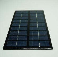 Factory direct supply cheap price customized design 260x180mm 6v 5w low power solar panels for solar led light