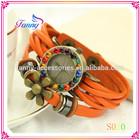 S020 Original High Quality Women Genuine Leather Vintage Watches,Bracelet Wristwatches