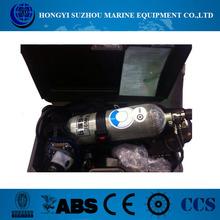 Hypro SCBA autónomo de respiración de aire 6.8L equipos de, Un aparato de respiración portátil