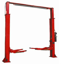 4.5t/11000lbs clear floor two pieces post lift portable car lift/car hoist for sale