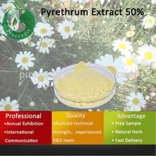 Pyrethrum Cinerariifolium/Pyrethrum P.E./Insecticide/ Pyrethrum Extract Pyrethrin 50%