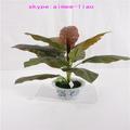 q090404 natal decoração falso bonsai pequeno ornamental artificial de plantas