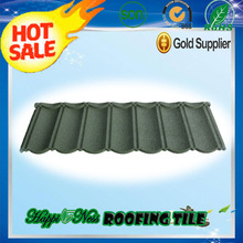Terracotta Stone Coated Roof Tiles / roof tile ridge cap / Black Corrugated Roofing Sheet