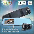 Dupla câmera do carro dvr da câmera online e espião câmera dvr do carro com bluetooth/estacionamento reverso
