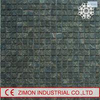 Backsplash tile dark emperador stone marble premium mosaic