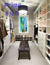 New design modern fashion locker room with bench