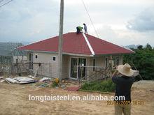 modern light steel villa
