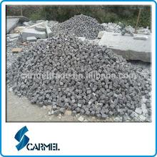 Chinese hot sale split G654 granite cube stone