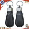 high quality fashion suzuki car logo felt leather keychain keyring
