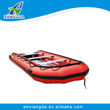 New style and high speed rubber boat hull for fishing of China