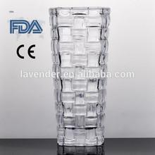 showpieces for home decoration glass flower vase