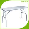 Bn-w36 plegable de acero inoxidable mesa de trabajo/banco de trabajo