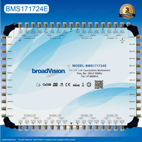 SMATV distribution system 17in 17out 24 users cascade multiswitch Providing OEM & ODM services