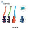Bear handle standing up mini kid toothbrush
