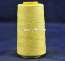 metal aramid anti-fire fire resistant fiber yarn thread 20s to 60s, 2/3ply