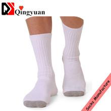 White medical men diabetic socks