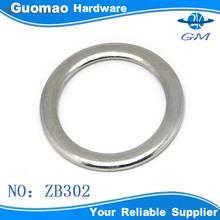Heavy duty zinc alloy flat metal round ring