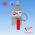 extintor de incendios de llenado de nitrógeno equipo