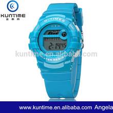 Different Colour Plastic Digital LCD Watch Jam Tangan