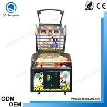 Crazy basketball game machine indoor arcade sport equipment