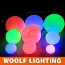 Forma de bola recarregável moda lâmpada de levou