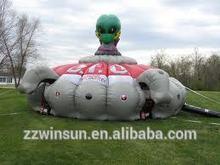 EN14960 popular adventures inflatable laser tag arena