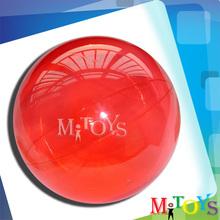 2014 Hot Sale Clear Hollow Novel Games Bouncing Balls Solid Plastic Ball